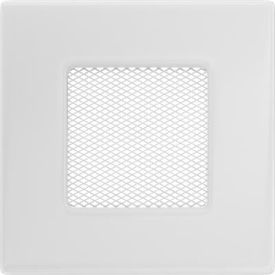 Вентиляционная решетка  Kratki Белая (11*11) 11B
