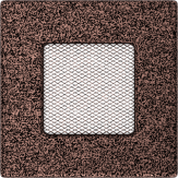 Вентиляционная решетка Kratki Латунь (11*11) 11M