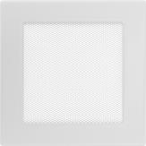 Вентиляционная решетка  Kratki Белая (17*17) 17B