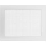 Вентиляционная решетка  Kratki Белая (22*30) 22-30B