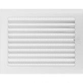 Вентиляционная решетка Kratki каминная Белая с жалюзи (22*30) 22-30BX