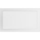 Вентиляционная решетка  Kratki Белая (22*37) 22-37B