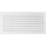 Вентиляционная решетка Kratki каминная Белая с жалюзи (22*45) 22-45BX