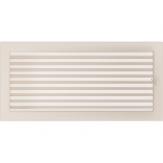Вентиляционная решетка Kratki каминная Кремовая с жалюзи (22*45) 22-45KX