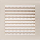 Вентиляционная решетка Kratki каминная Кремовая с жалюзи (22*30) 22-30KX