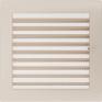 Вентиляционная решетка Kratki каминная Кремовая с жалюзи (22*22) 22KX