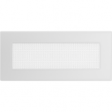 Вентиляционная решетка  Kratki Белая (11*24) 24B