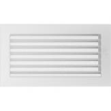 Вентиляционная решетка Kratki каминная Белая с жалюзи (17*30) 30BX