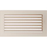 Вентиляционная решетка Kratki каминная Кремовая с жалюзи (17*30) 30KX