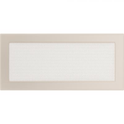 Вентиляционная решетка Kratki Кремовая (17*37) 37K