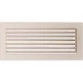Вентиляционная решетка Kratki каминная Кремовая с жалюзи (17*37) 37KX
