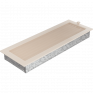 Вентиляционная решетка Kratki каминная Кремовая с жалюзи (17*49) 49KX