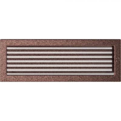 Вентиляционная решетка Kratki каминная Латунь с жалюзи (22*45) 22-45MX