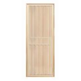 Дверь для бани деревянная глухая из липы 1900*700 коробка хвоя
