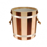 Запарник для бани и сауны 15 л с пластмассовой вставкой (ЗПТ-15)
