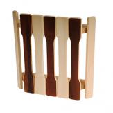 Абажур для бани и сауны угловой плоский термо АУПТ-3