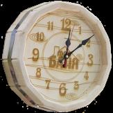 """Часы для бани """"Бочонок"""" светлые (ЧБ-С)"""
