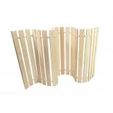 Коврик-лежак (М-14) деревянный для бани и сауны 1,0 м