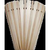 Абажур для бани и сауны веерный комбинированный А-1 из древесины липы