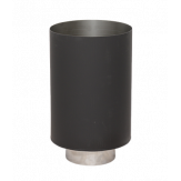 Дымоход Lava черный сталь 2 мм Стакан d=120-200 мм сталь 0.7мм и н.ст.1 мм