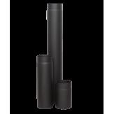 Дымоход Lava черный сталь 2 мм труба L=250 мм d=120 мм