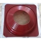 Уплотнитель кровельных проходов Master Flash из силикона YS-07 красный