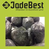 Камни для бани нефрит полированный