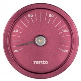 Tammer-Tukku Термометр алюминиевый круглый для сауны Rento, красный, артикул 308204