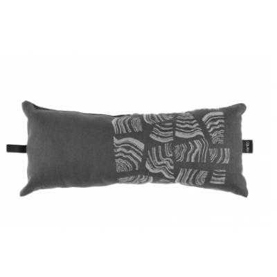 Подушка (подголовник) для бани и сауны Rento Pino, коричневая, 50х22 см