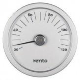 Tammer-Tukku Термометр алюминиевый круглый для сауны Rento, алюминий, артикул 263790