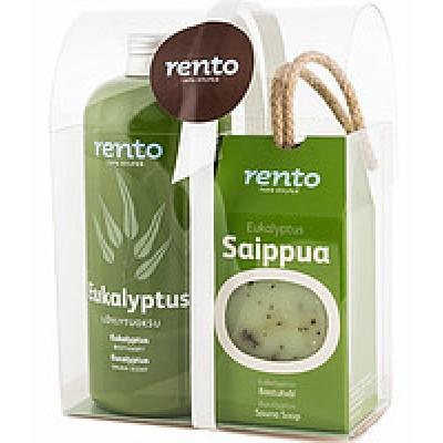Подарочный набор Rento три аромата по 400 мл (арктические ягоды, береза, эвкалипт), арт. 600477