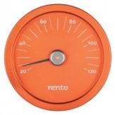 Tammer-Tukku Термометр алюминиевый круглый для сауны Rento, облепиха, артикул 263792