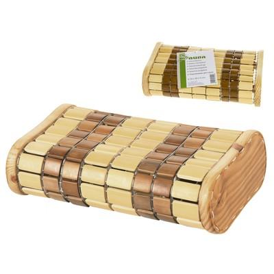 Подголовник для бани Tammer-Tukku амортизируемый бамбук, артикул 113920