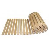 Коврик для бани деревянный гибкий, гигант 50*200
