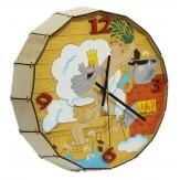 Часы для бани Парюсь по-царски  кварцевые