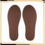 "Тапочки из натурального войлока ""Оптима"" унисекс, цвет серый р.42"