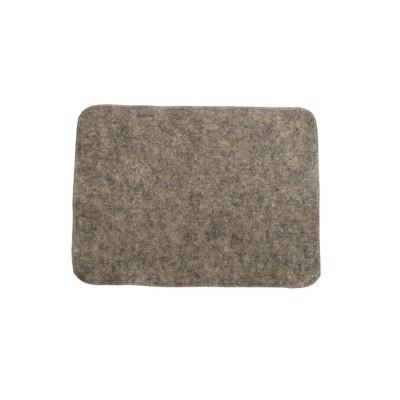Коврик для бани и сауны НП цвет серый