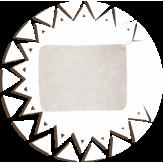 Коврик для бани Банные традиции войлок белый