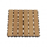 Коврик деревянный для пола внутренний блок Sawo 595-D-BC