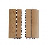 Sawo Коврик деревянный на пол 595-D-SID боковой элемент
