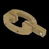 Дверная ручка Sawo 568-D в комплекте с магнитным замком и крепежными элементами