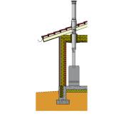 Готовый комплект Schidel Permeter высота 10 м (черный) насадной монтаж
