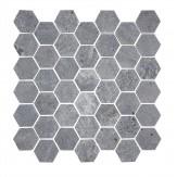 Плитка мозаика из талькомагнезита TK-243 гексагональная Tulikivi Classic