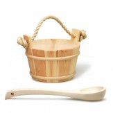 Ковш Tylo деревянный бук