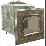 Печь ИнжКомЦентр ВВД Калита Классик в змеевике дверца стальная окрашеная