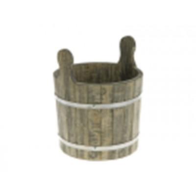 Запарник-ушат с пластиковой вставкой 20 л под старину (Параон)