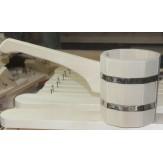 Ковш-черпак бондарный с длинной ручкой 1л (Параон)