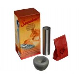 Увлажнитель воздуха (в каменку, метал.цилинд.+чаша+камни)