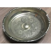 "Чаша для турецкой бани ""Серебро"" диаметр 20 см"