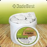 Белый кварц колотый для бани и сауны, 1кг  в экологичной упаковке